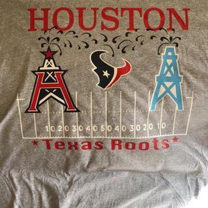 Houston Roughnecks Oilers Texans Roots XFL NFL